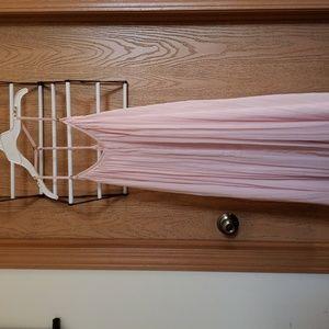 Abercrombie Pink T back Mini Dress